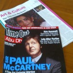 Paul McCartney is coming to Abu Dhabi to see ME?