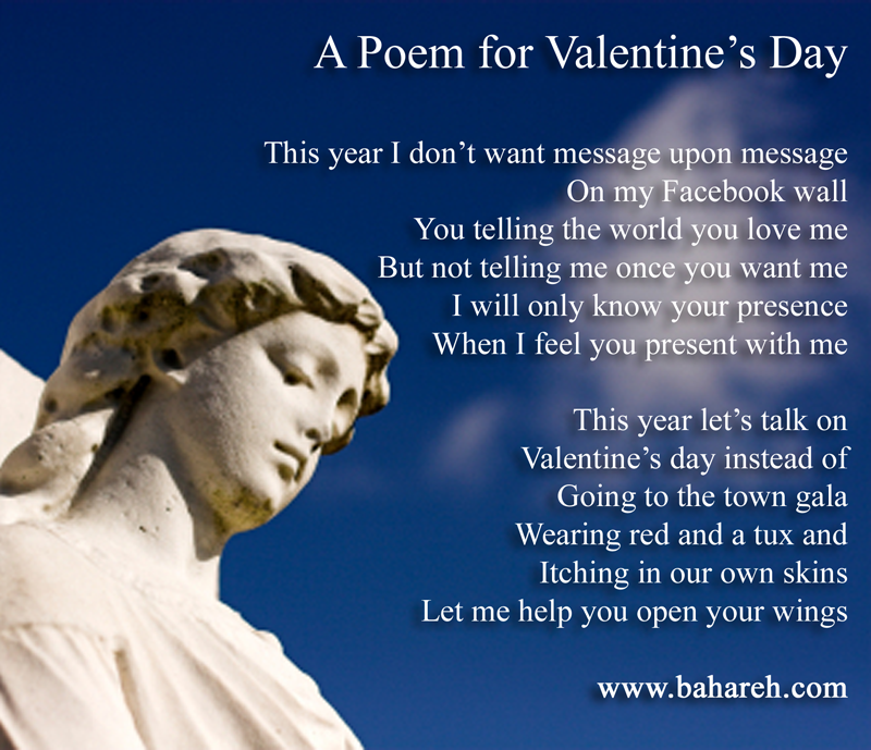 a poem for valentines day 2012