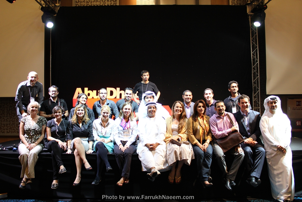 Bahareh-Amidi-spiritual-poet-poetry-therapy-TEDxAbuDhabi-TED-UAE Group picture