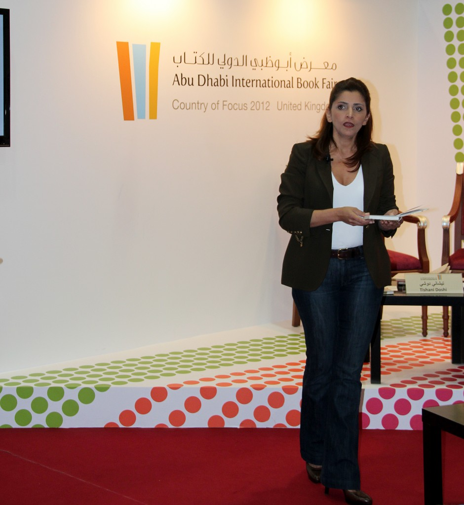 Me at Abu Dhabi Book Fair